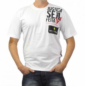 Camisetas Personalizada Organic Com Estampa Frontal