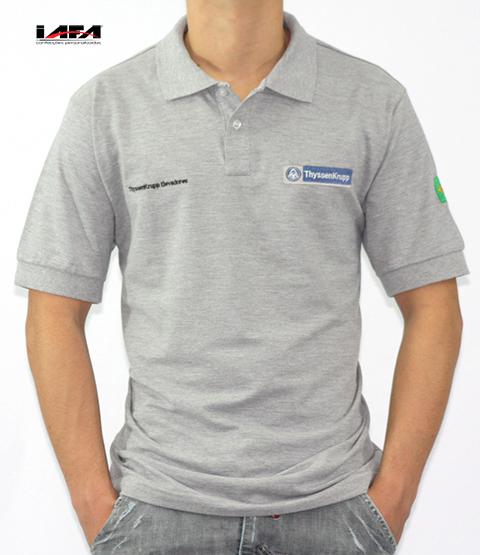 9186683c131f0 Camisa Polo Personalizada Masculina Com Estampa Frontal e Lateral