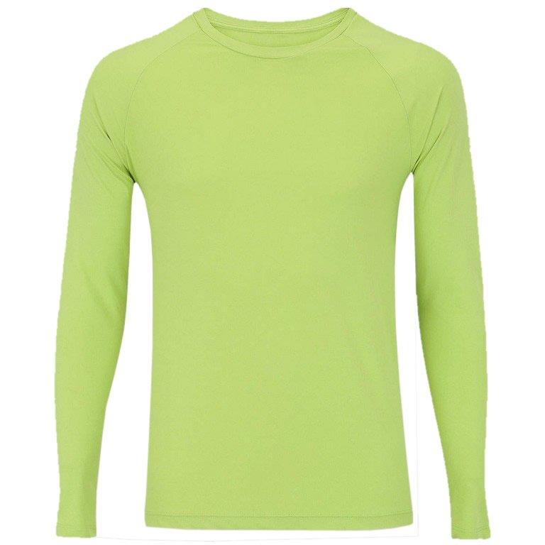Camisetas com proteção UV verde
