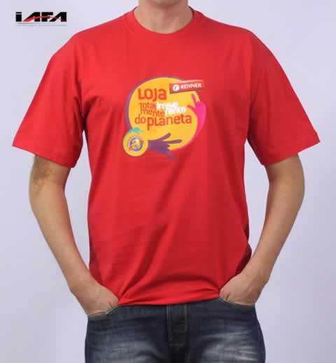 Camisetas Personalizada Premium Algodão 180g Com Estampa Frontal e Lateral