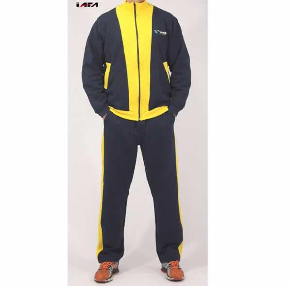 Abrigo Esportivo Personalizado Amarelo e Preto