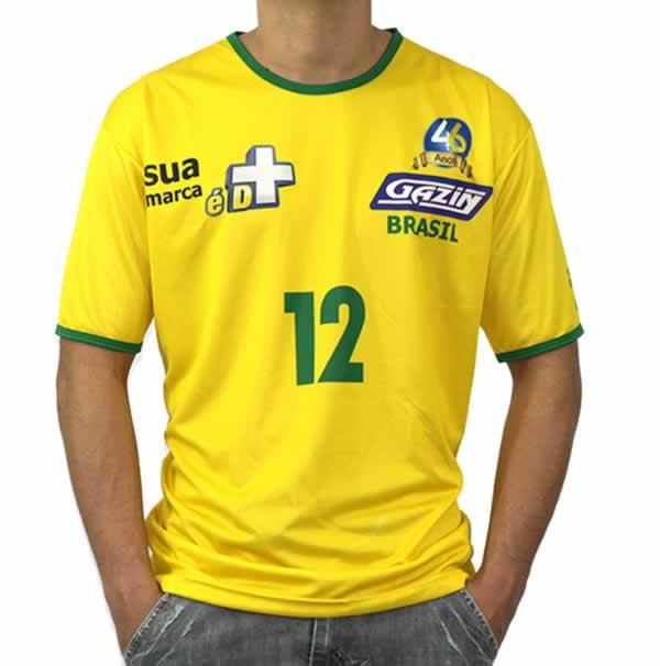 Camiseta Personalizada Dry Fit - Maratona - Com Estampa Frontal