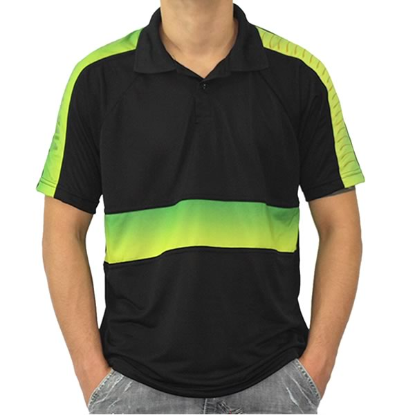 Camisa Personalizada Polo Masculina Estampada Colorida