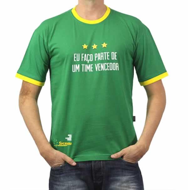 Camisetas Personalizada Premium Algodão 180g Com Estampa Frontal Duas Cores
